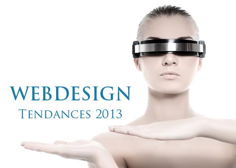 webdesign tendances 2013
