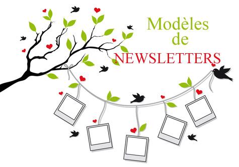 modele de newsletter