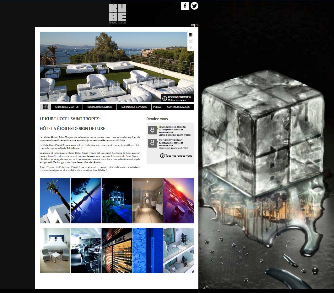 webdesign site web hotels